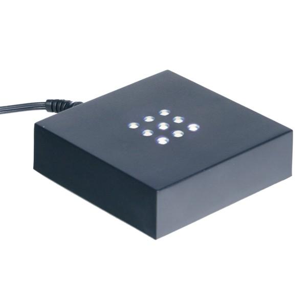 646956 - Leuchtsockel mit weissem Licht 100 100 20 mm