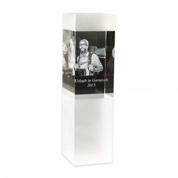3D Glasfoto SKY M - geeignet für 1 - 3 Personen