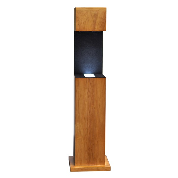 Stele, Holz 361x96x95 mm für Glablock 100x70x60_x000D_ mm hoch