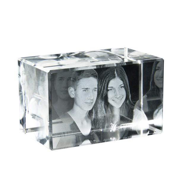 3D Glasbild 200x150x100 Querformat 200x150x100 mm 1-10 Personen