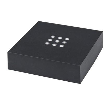 646981 - Leuchtsockel mit weißem Licht 76 76 20 mm (Batteriebetrieb)