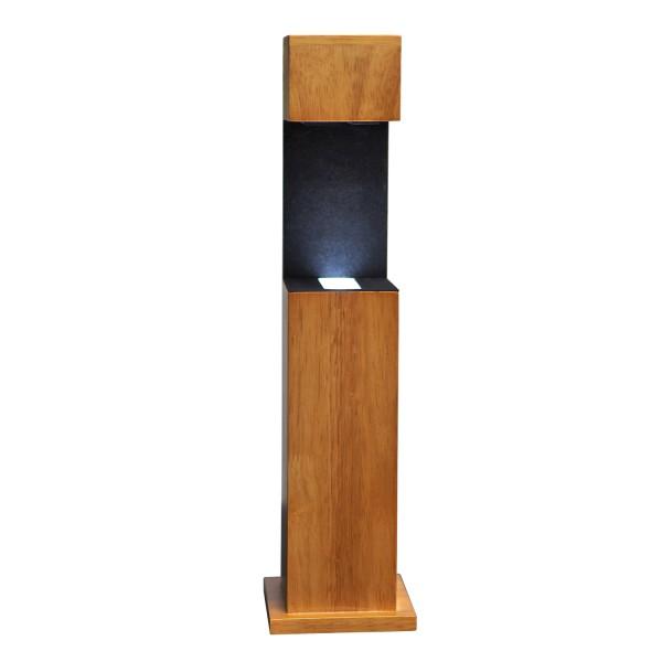 Stele, Holz 326x81x91 mm für Glablock 90x60x60_x000D_ mm hoch
