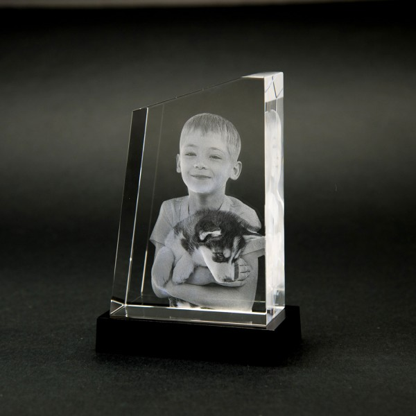 3D GlasfotoTOWER S 120x83x40mm hoch 1-2 Personen