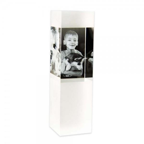 3D Glasfoto SKY L - geeignet für 1 - 4 Personen