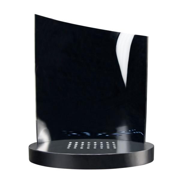Clarisso Leuchtsockel mit weißem Licht 200x10x 30/290 mm (Batteriebetrieb)
