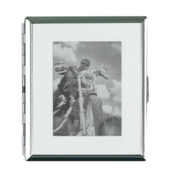 Zigarettenetui mit Fotogravur