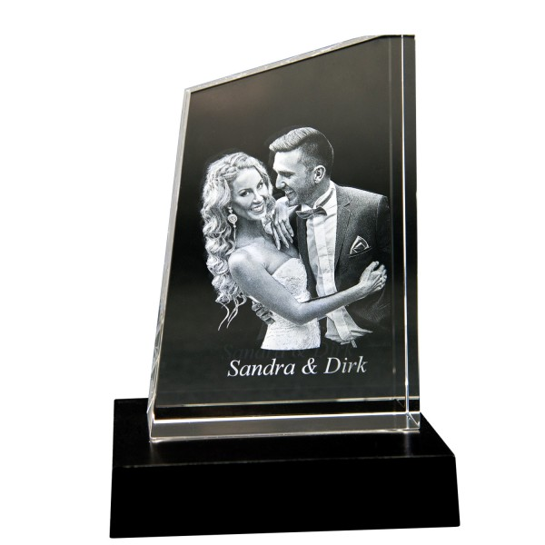 3D GlasfotoTOWER M 140x97x45mm hoch 1-4 Personen