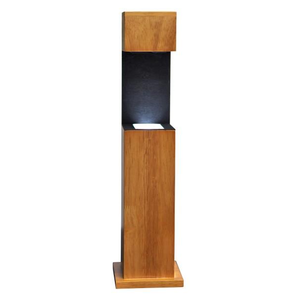 Stele, Holz 467x122x116 mm für Glablock 130x90x75_x000D_ mm hoch