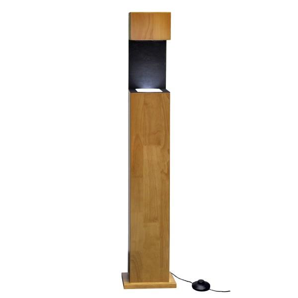 Stele, Holz 1077x222x181 mm für Glasblock 200x150x100_x000D_ mm hoch
